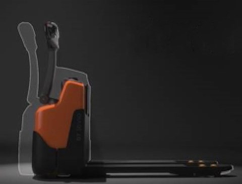 Leggero, compatto e maneggevole - Transpallet elettrico con batteria agli ioni di litio, TOYOTA modello BT LWI160.